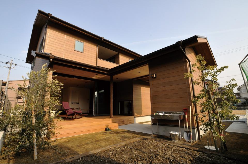 能登川町の家1「外観」