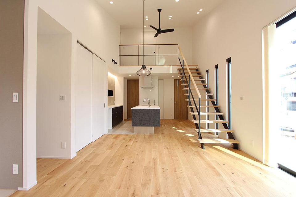 平屋と0.5階の暮らし
